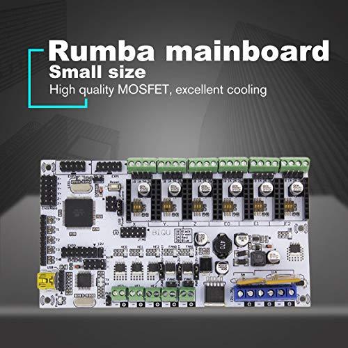 Lorenlli Placa de Control de Rumba Adecuada Placa de Rumba Placa Madre Rumbaplus integrada Procesador Mega 2560 R3 Compatible Pantalla TFT MKS