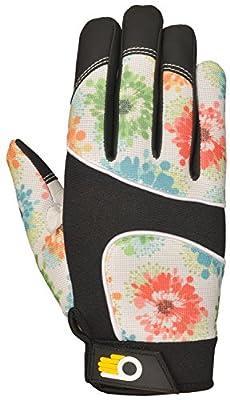 Bellingham C7781L Women's Floral Pattern Performance Work Gloves