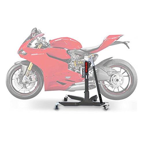 ConStands Power Classic-Zentralständer Ducati 1299 Panigale S 15-17 Grau Motorrad Aufbockständer Heber Montageständer