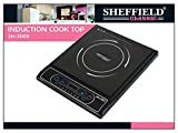Sheffield Classic Sh-3003 2000 Watt Induction Cooktop (Black)