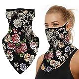 Kfnire Nahtlose Bandana Face Shield Halstuch Schlauch Multifunktionstuch Schal Gesichtsmaske...