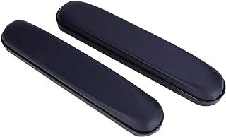EXCEART 2 Piezas Reposabrazos Acolchados Almohadillas Universales Almohadillas de Cuero de Repuesto para Silla de Ruedas