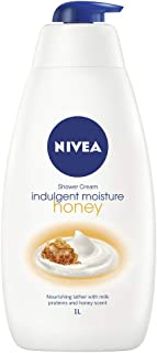 NIVEA Indulgent Moisture Shower Cream, Honey, 1L