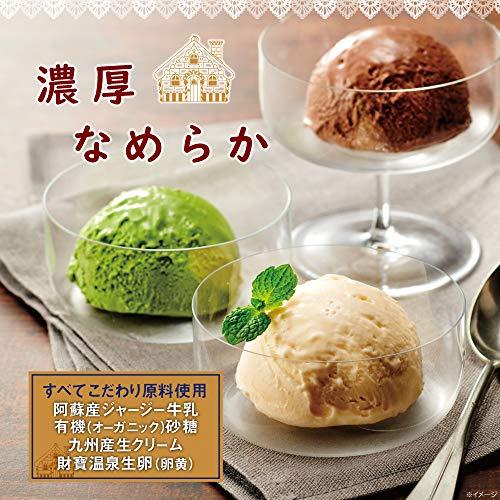 グレーテル菓子店アイスクリーム詰め合わせジャージーバニラ5個チョコレート4個120ml×9個