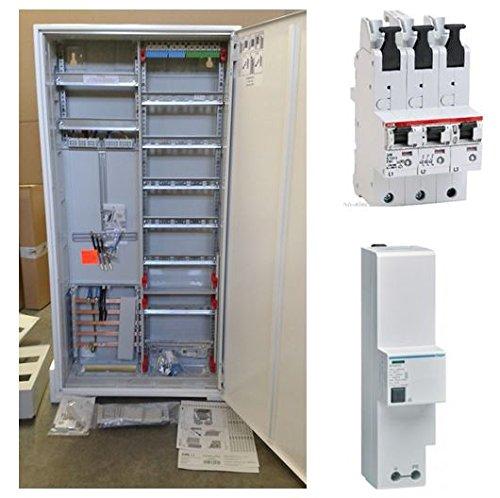 TM: Striebel&John ABB Zählerschrank 1 Zähler 3.HZ verdrahtet mit APZ-Verteilerfeld/KS243Z + 1x ABB SLS 35A + 1x SPA301Z Überspannungsschutz, für das Einfamilienhaus