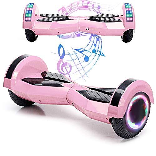 baratos y buenos Magic Vida 8´´ Patinete eléctrico Patinete Bluetooth Patineta Patineta autoequilibrante (rosa) calidad