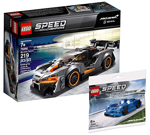 Collectix Lego Set - Speed Champions McLaren Senna 75892 + Speed Champions McLaren Elva 30343 (Polybag)