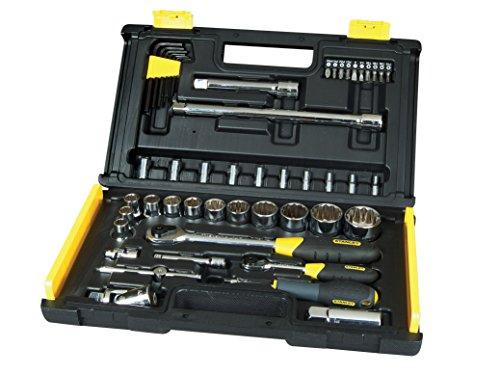 Stanley 1-94-658 Cricchetti e chiavi a bussola, Set di 50 pz