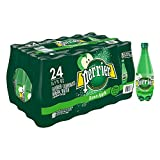 Perrier Green Apple Flavored Carbonated Mineral Water, 16.9 fl oz. Plastic Bottles (24 Pack)