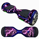 Bolayu 6.5 Inch Self-Balancing Scooter Skin, Sticker for Hover Electric Skate Board, Two-Wheel Smart Protective Cover Case Stickers (E)