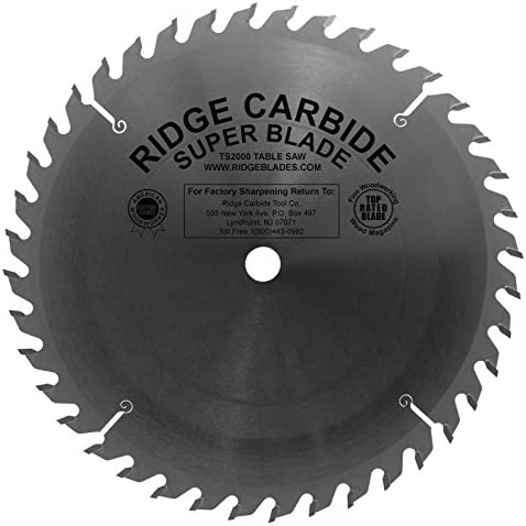 """TS2000 Thin Kerf 国内即発送 All Purpose 10"""" ストアー 40 saw Blade Combo Table Tooth"""