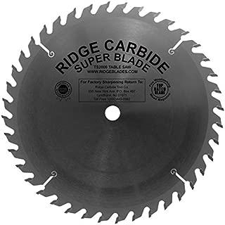 ridge carbide table saw blades