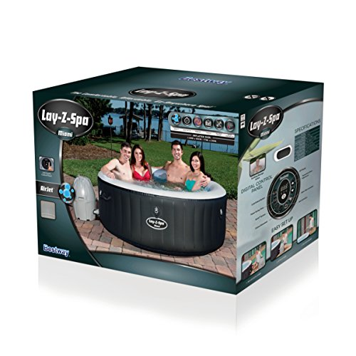 Bestway Lay-Z-Spa Miami Whirlpool, 180 x 66 cm - 2