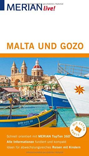 MERIAN live! Reiseführer Malta und Gozo: Mit Extra-Karte zum Herausnehmen