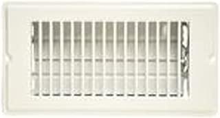 Danco 62069P 4-Inch x 8-Inch Floor Register, White, 5 Pack