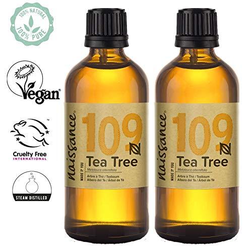 Naissance Aceite Esencial de Árbol de Té n. º 109 – 200ml (2x100ml) -...