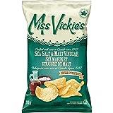 Miss Vickie's Sea Salt & Malt Vinegar Chips 200g/7.1 oz., {Imported From Canada}