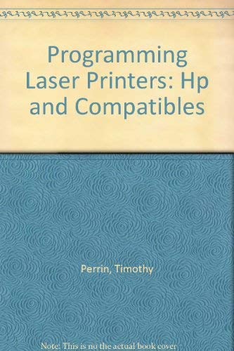 Programming Laser Printers: Laserjet Plus and Compatibles