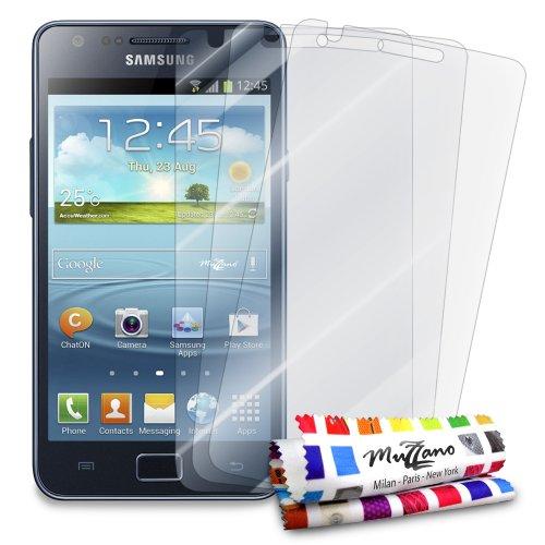 MUZZANO FPR-1-1-NNNN Displayschutzfolie, Samsung Galaxy S2, durchsichtig