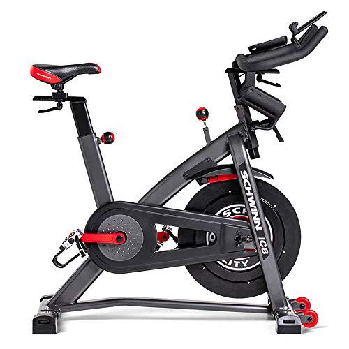 Schwinn IC8 mit Bluetooth Bicicleta Interior magnética, Ajuste de Resistencia de 100 Veces con Pantalla Digital, función de la App Compatible, SPD-Klickpedale, MAX. Benutzergewicht 150 kg