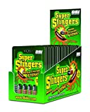 Super Stingers | Mega Energy Sting - 300mg Caffeine Pills with a Premium Herbal Blend (B6, B12, Iron, Guarana, Green Tea, Mate' Extract and Asian Ginseng Root) - 4 Count Packet, 24 Packet Display