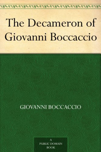 The Decameron of Giovanni Boccaccio (English Edition)