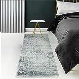 YX-lle Home Alfombra para pasillo de cocina, de tacto suave, de tamaño pequeño a grande, para sala de estar, dormitorio, pasillo, cocina, puerta delantera (80 x 150 cm)