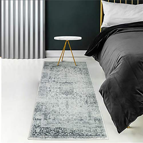 YX-lle Home Teppich Flurläufer Teppich Läufer Teppich Shaggy Hochflor Teppich Muster Teppich Für Runner Flur Eingang (Sg Vintage, 80x150cm)