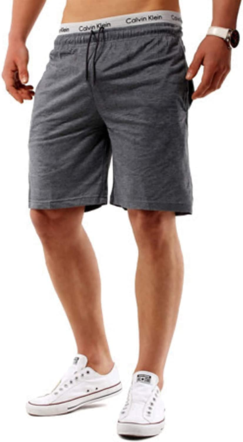 Fllaees Men's Regular Fit Sports Shorts Summer Fashion Trend Outer Wear Loose Casual