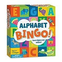 Peaceable Kingdom アルファベットビンゴ。 子供向けレターラーニングボードゲーム