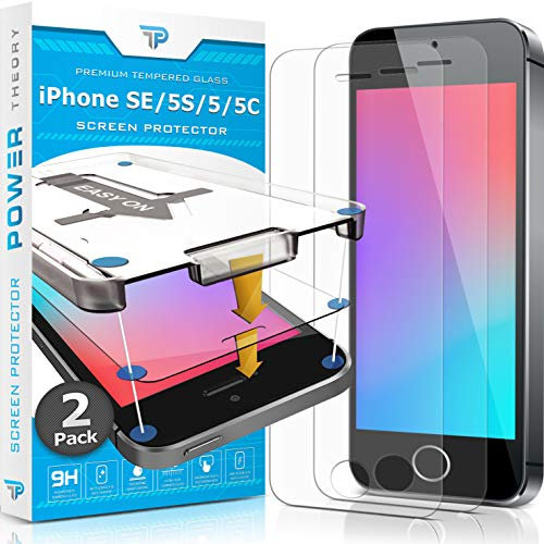 Power Theory iPhone SE/5S/5/5C Glass Screen...