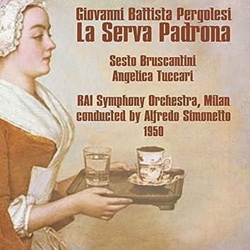 Giovanni Battista Pergolesi: La Serva Padrona (1950)