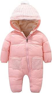 Fairy Baby Toddler Boys Girls Winter Thick Outwear Romper Hooded Snowsuit Sleepsack