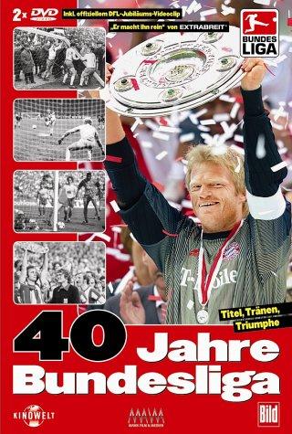 40 Jahre Bundesliga - Titel, Tränen, Triumphe [2 DVDs]