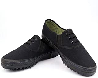 JBHURF Liberation Shoes Low-Cut Shoes wear-Resistant Old-Fashioned Shoes Anti-slipold-fashionedone-Legged leisuresneakers Shoes