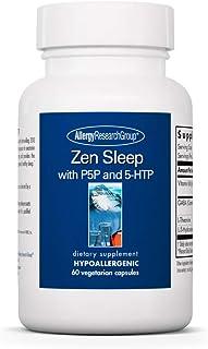 Allergy Research Group - Zen Sleep - Vitamin B6, GABA, L-Theanine, 5-HTP - 60 Vegetarian Capsules