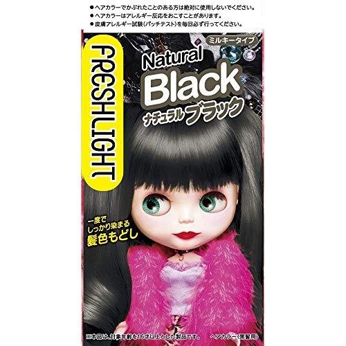 Fresh Light Hair Color - Natural Black