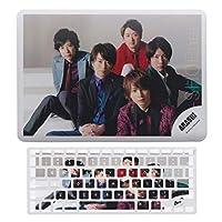岚arashiAppleラップトップ保護シェルキーボードフィルムAir13、USバージョンA1466、A1369Appleラップトップ