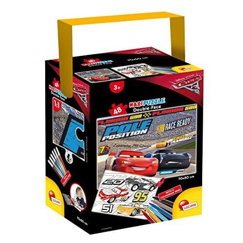 Lisciani Giochi- Puzzle Cars 3 Fire, 60733.0