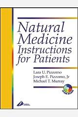 Natural Medicine Instructions for Patients Copertina flessibile