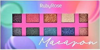 Paleta De Sombras Macaron Ruby Rose Hb-1052