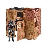 Jazwares- Builder Kit de Construction Fortnite + Figurine Black Knight, 71960008505, Multicouleur