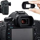 アイカップ 接眼レンズ 延長型 Canon EOS 5D Mark IV III 5DS 5DSR 7D Mark II 1D Mark IV III 1D X Mark II 1D X 1Ds Mark III 対応 Egアイピース 互換