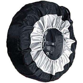 colore bianco Copri ruota di scorta per pneumatici da 33 a/40,6/cm protettivo e salvaspazio