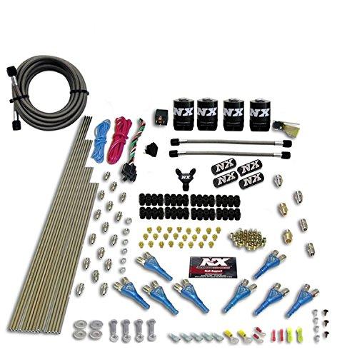 Nitrous Express 90006-00 200-600 PS 8-Zylinder Benzin Shark Direct Port System mit 4 Magnetspulen