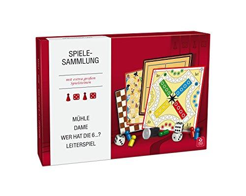 ASS Altenburger 22570310 - Spielesammlung mit extra groߟen Spielsteinen