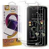 Guran 4 Paquete Cristal Templado Protector de Pantalla para LG K5 Smartphone 9H Dureza Anti-Ara?azos Alta Definicion Transparente Película