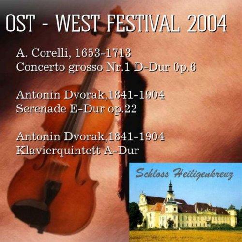 Concerts of the East - West Festival 2004: A. Corelli, 1653-1713 Concerto grosso Nr.1 D-Dur 0p.6; Antonin Dvorak,1841-1904 Serenade E-Dur op.22 Antonio Vivaldi, 1678-1741 Fagottkonzert e-Moll