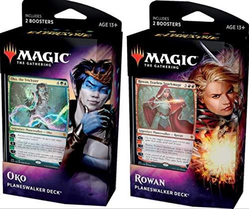 Magic The Gathering MTG-ELD-PD-EN Throne of Eldraine Planeswalker Deck (estilo enviado al azar) , color/modelo surtido