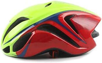 LIUDATOU Carreras de triatlón Aero Ciclismo Casco Adulte City MTB Mountain Casco para Bicicleta Seguridad TT Equipo de Bicicleta Ciclismo